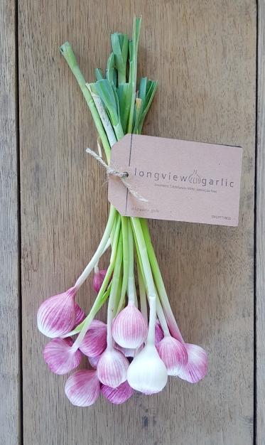 Spring or Green Garlic