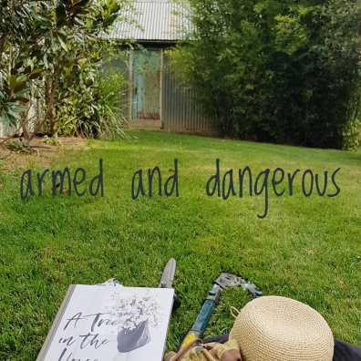 in a friend's garden