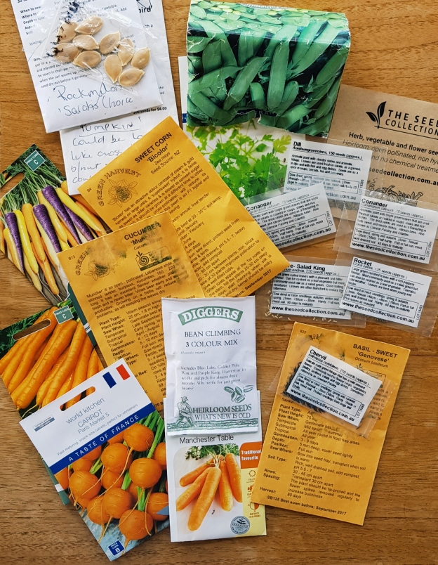 do seed packets count as reading?
